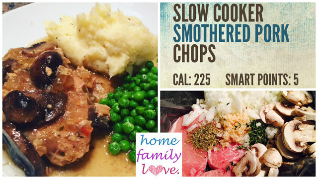 Healthy Slow Cooker Pork Chops  HomeFamilyLove