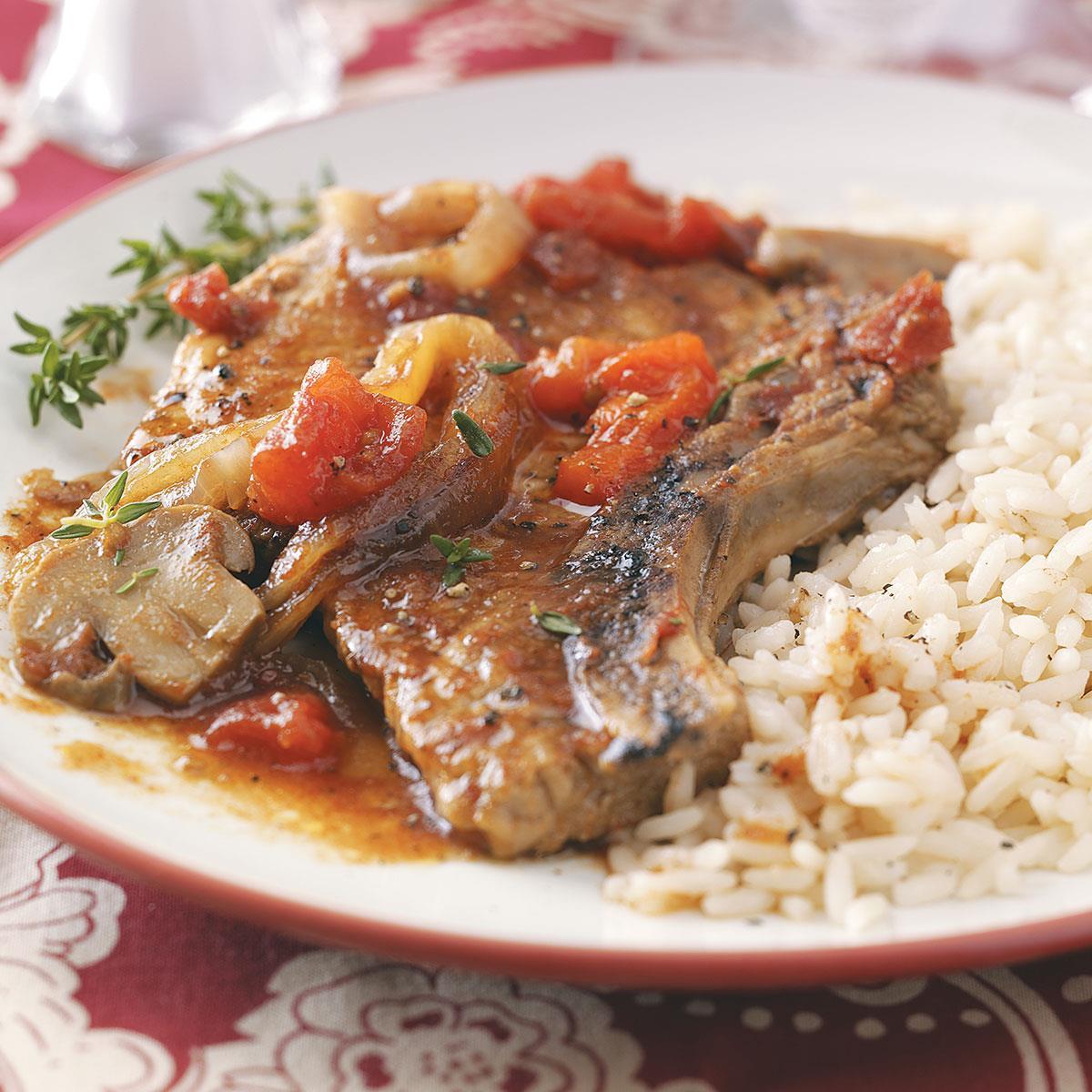 Healthy Slow Cooker Pork Chops  Tender Slow Cooker Pork Chops Recipe