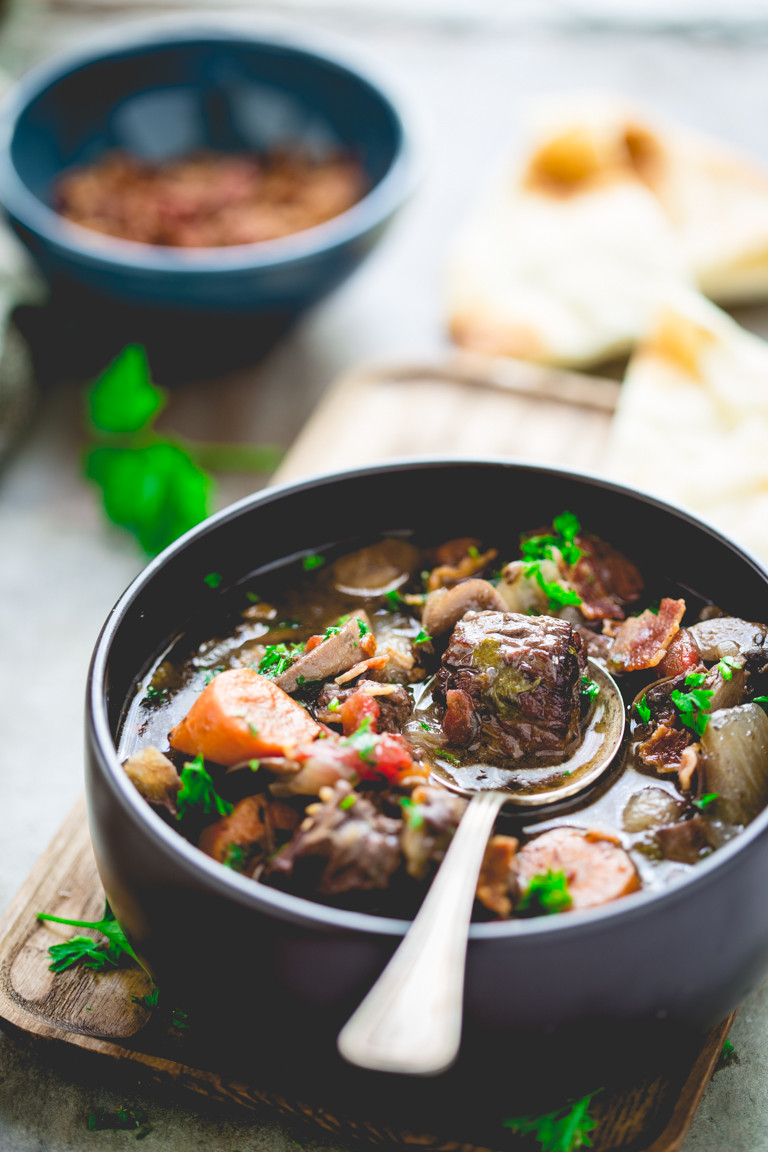 Healthy Slow Cooker Recipes Beef  healthy slow cooker beef burgundy Healthy Seasonal Recipes