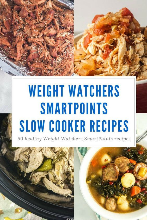 Healthy Slow Cooker Recipes For Weight Loss  Fifty Weight Watchers SmartPoints Slow Cooker Recipes
