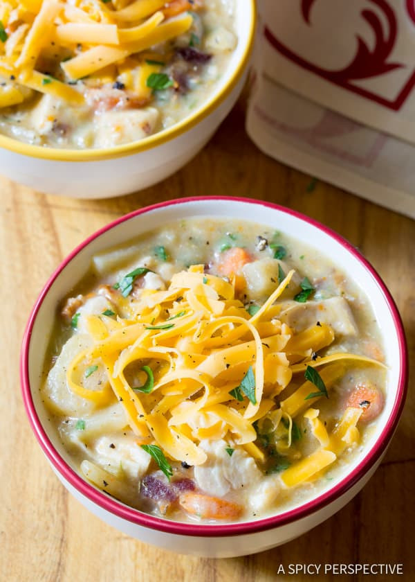 Healthy Slow Cooker Soup Recipes  Healthy Slow Cooker Chicken Potato Soup Page 2 of 2 A