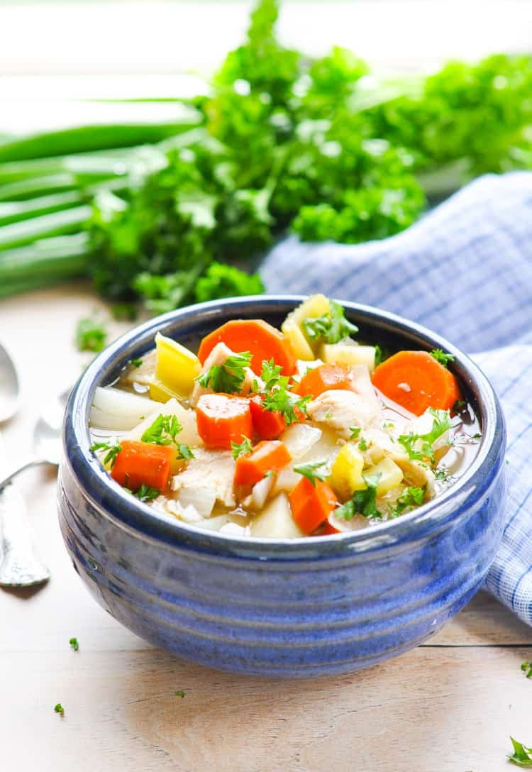 Healthy Slow Cooker Stew  Healthy Slow Cooker Chicken Stew The Seasoned Mom