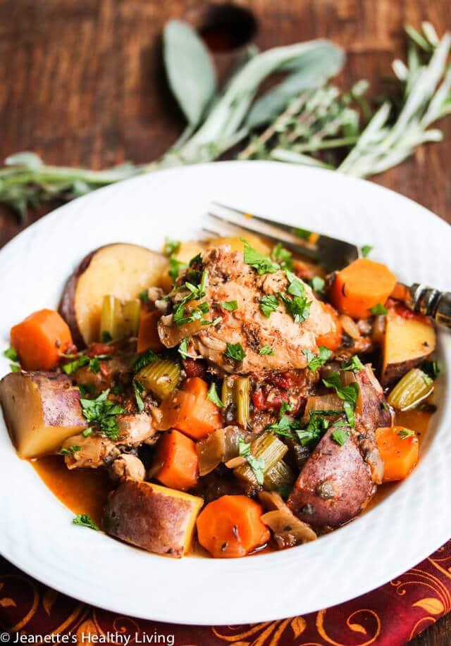 Healthy Slow Cooker Stew  Slow Cooker Chicken Ve able Stew Recipe Jeanette s
