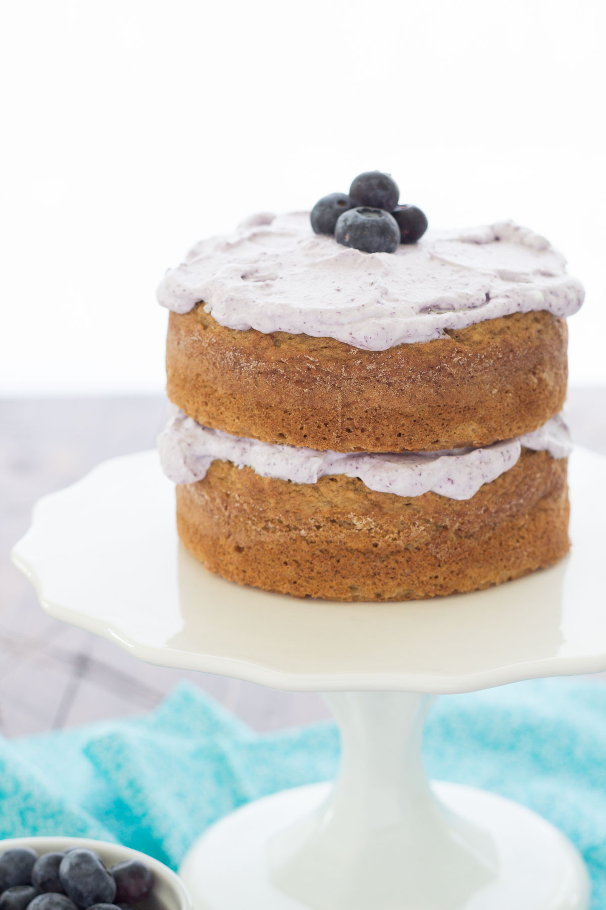 Healthy Smash Cake Recipe 1St Birthday  Healthier Smash Cake Recipe Hannah s Purple Polka Dot 1st