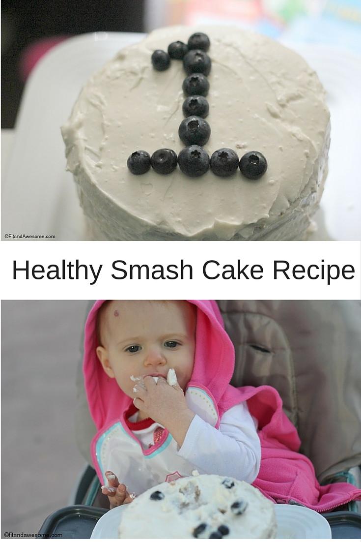 Healthy Smash Cake Recipe 1St Birthday  Healthy Smash Cake Recipe