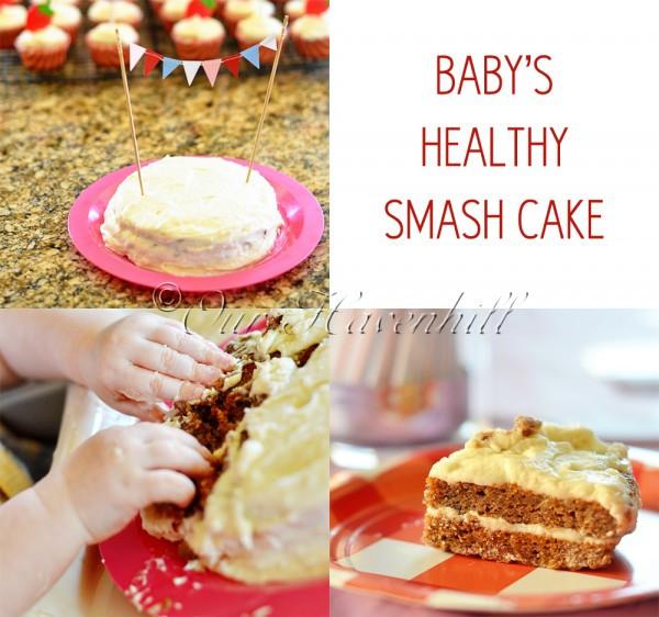 Healthy Smash Cake Recipe 1St Birthday  Recipe Healthy Smash Cake for Baby's 1st Birthday – Our