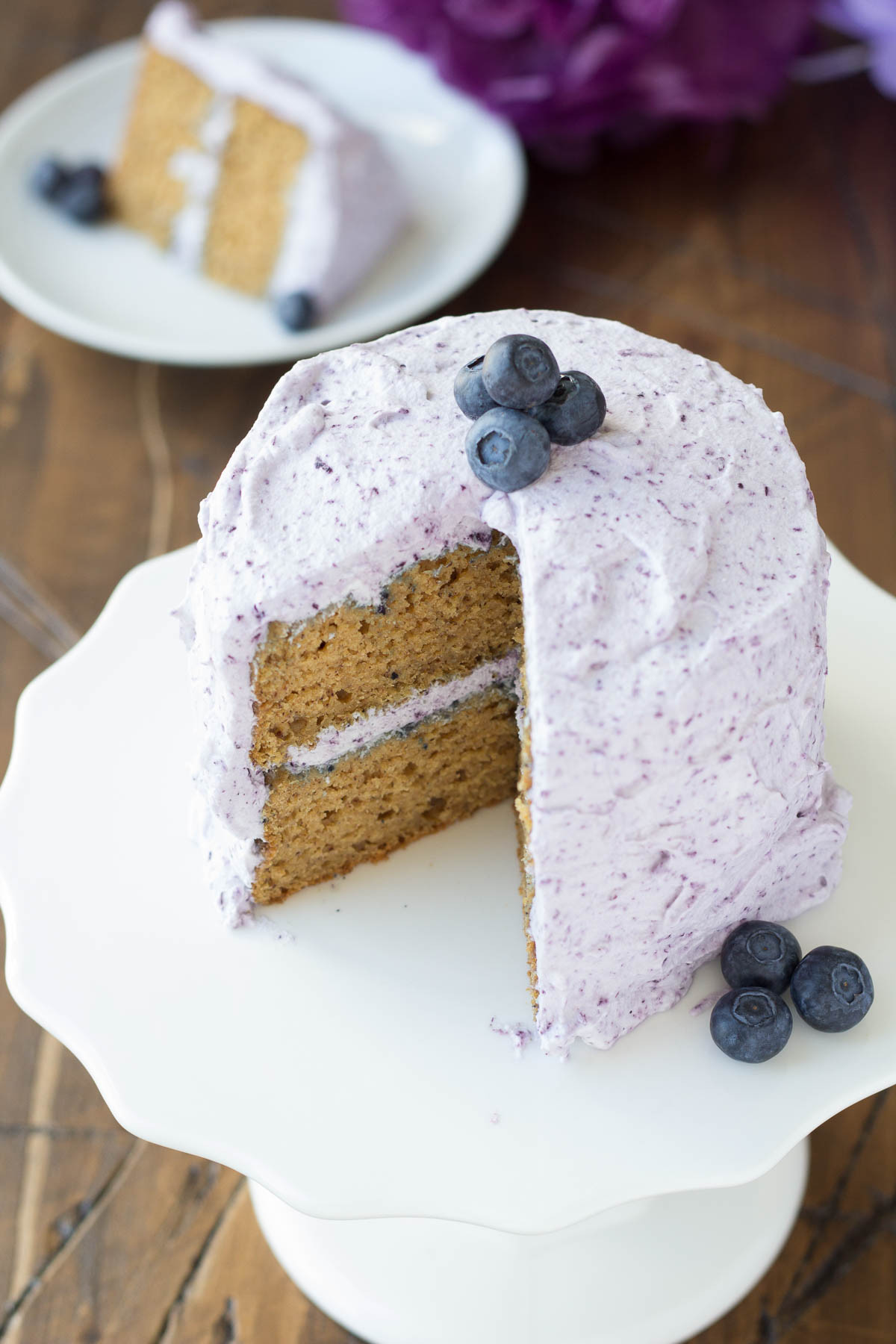 Healthy Smash Cake Recipes  Healthier Smash Cake Recipe Hannah s Purple Polka Dot 1st