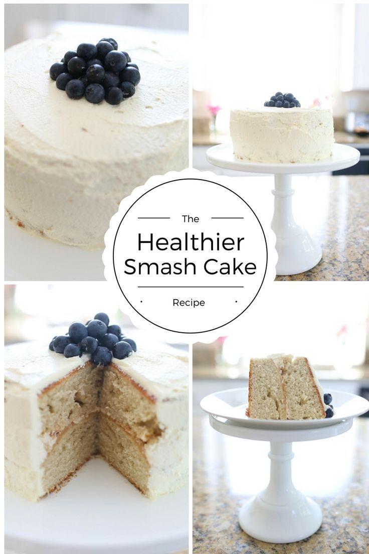 Healthy Smash Cake Recipes  Healthy smash cake Bellissimi Bambini Banana Apple Cake