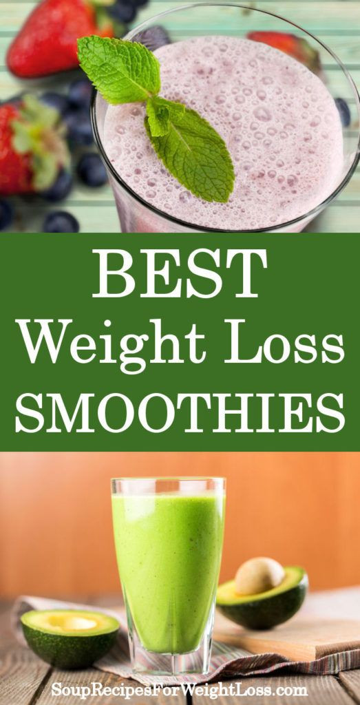 Healthy Smoothie Recipes For Weight Loss  Best Weight Loss Smoothie Recipes