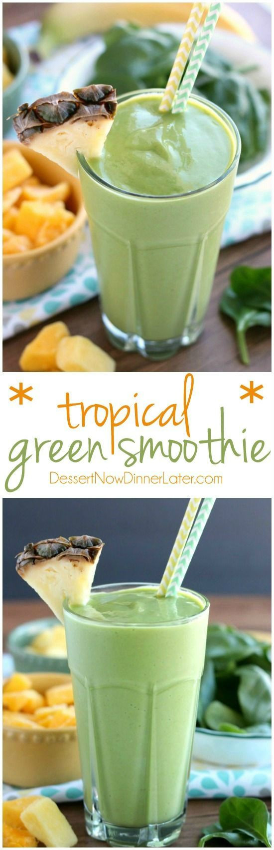 Healthy Smoothie Recipes With Yogurt  Best 25 Tropical smoothie recipes ideas on Pinterest