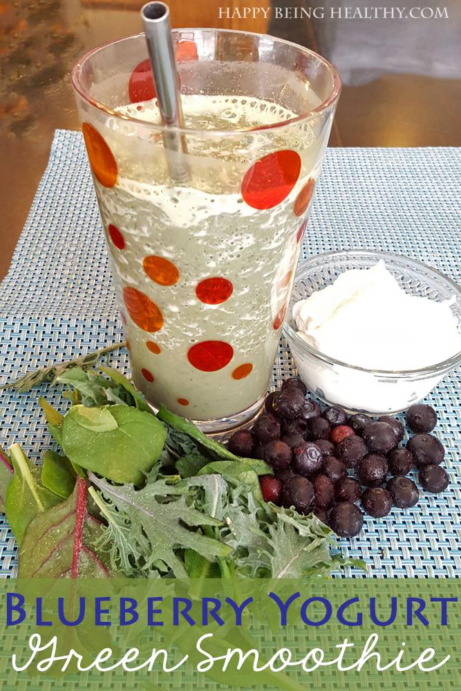 Healthy Smoothie Recipes With Yogurt  Blueberry Yogurt Smoothie Recipe — Dishmaps