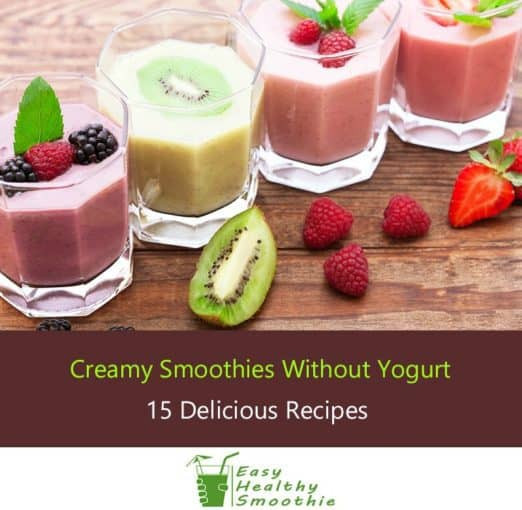 Healthy Smoothie Recipes Without Yogurt  15 Creamy Smoothie Recipes Without Yogurt No Dairy At All