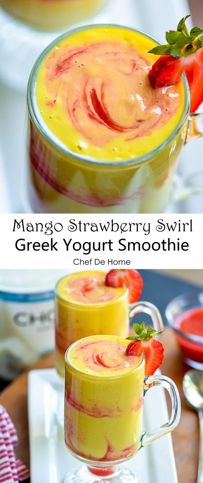 Healthy Smoothie Recipes Without Yogurt  pineapple mango smoothie without yogurt