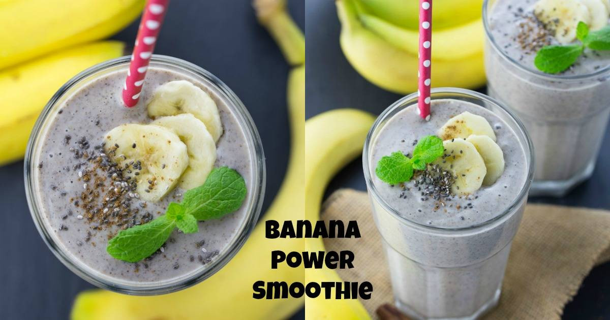 Healthy Smoothie Recipes Without Yogurt  Healthy Banana Smoothie without Milk Vegan Heaven