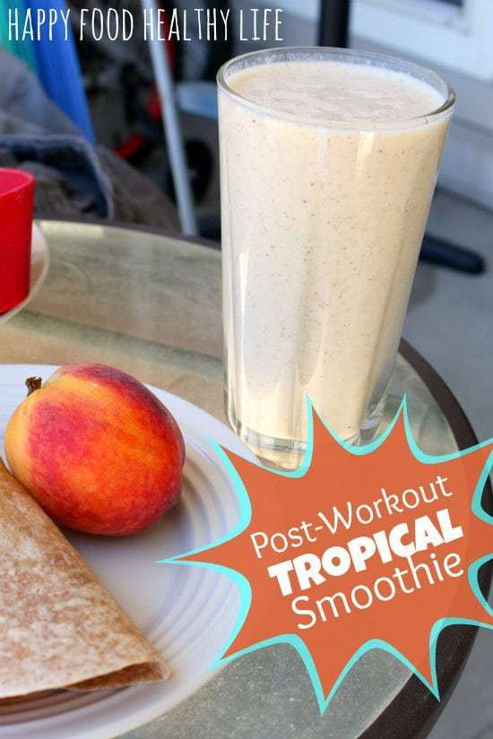 Healthy Smoothies After Workout  Weekend Web Findings a Post Workout Tropical Smoothie