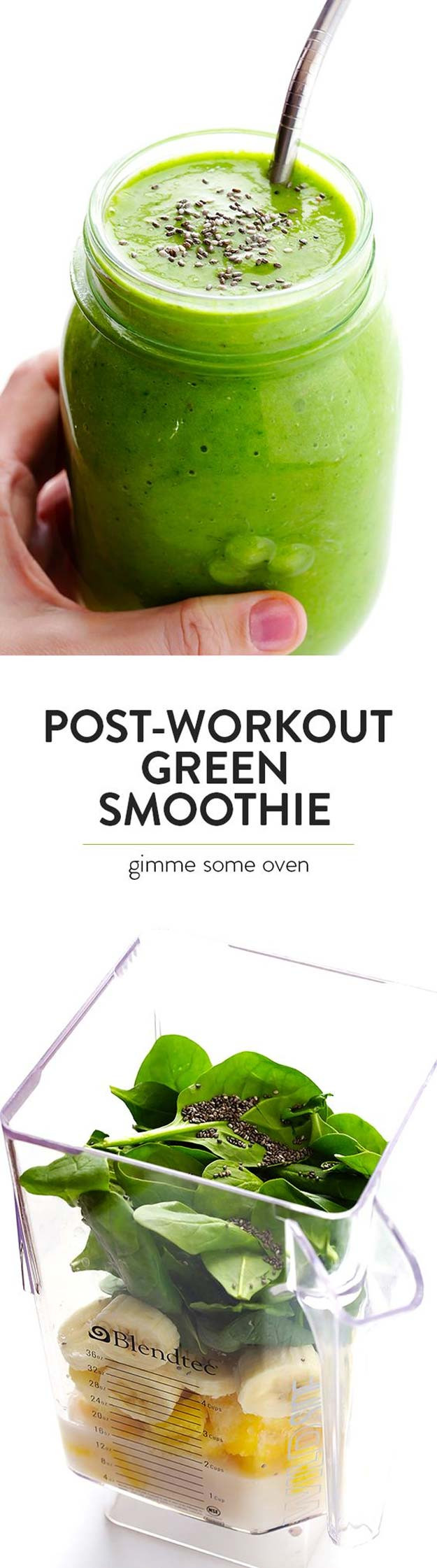 Healthy Smoothies After Workout  33 Healthy Smoothie Recipes The Goddess