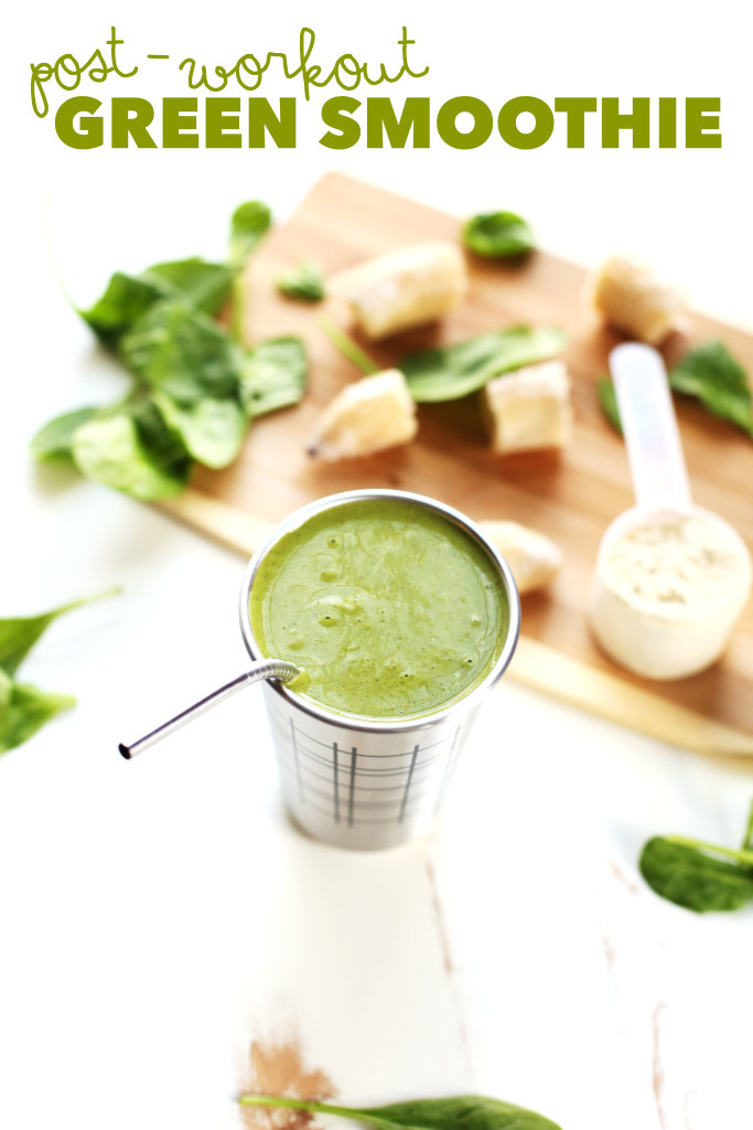 Healthy Smoothies After Workout  After Workout Smoothie Recipe — Dishmaps