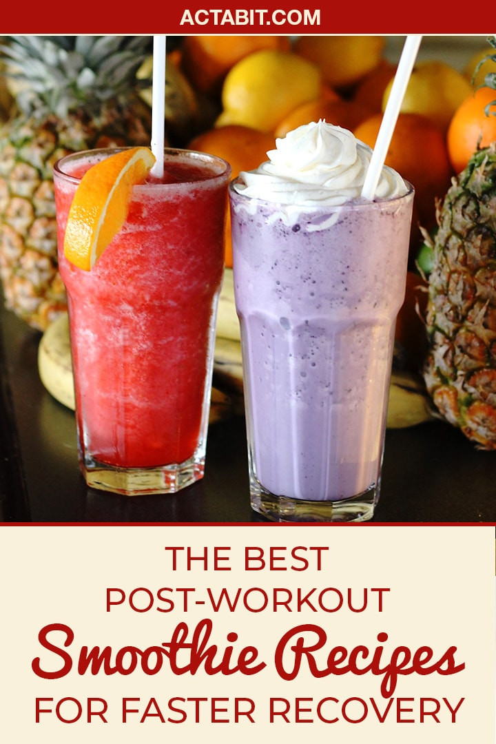 Healthy Smoothies After Workout  The 5 Best Post Workout Smoothie Recipes for Recovery