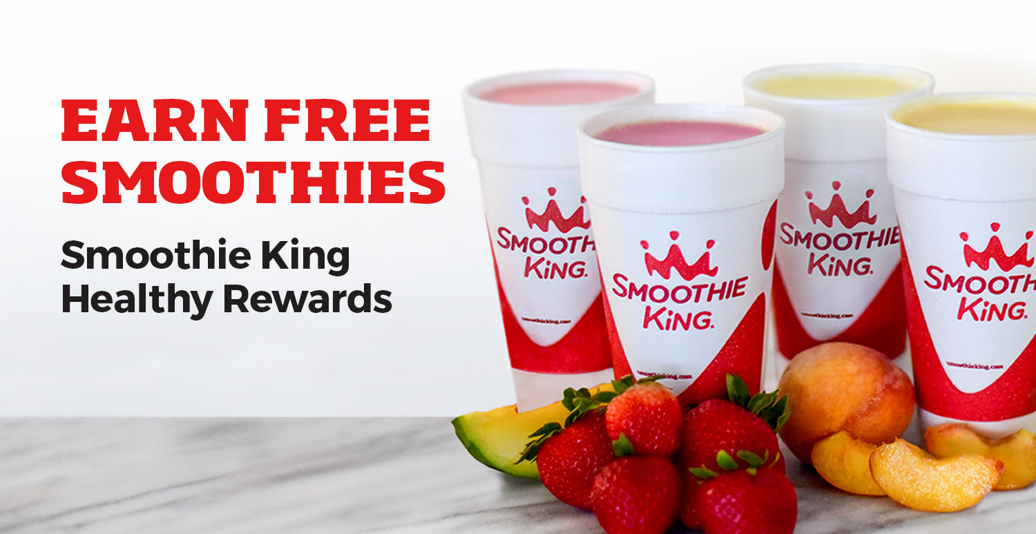 Healthy Smoothies At Smoothie King  Healthy Rewards Smoothie King