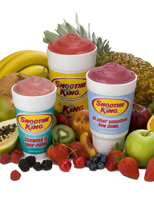 Healthy Smoothies At Smoothie King  Healthy food franchises expanding in metro Phoenix