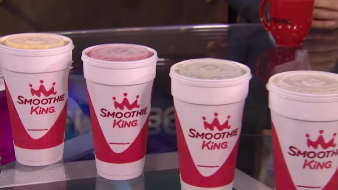 Healthy Smoothies At Smoothie King  'Smoothie King' grows as healthy eating trend takes hold