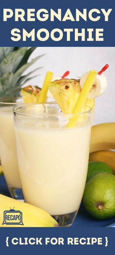 Healthy Smoothies During Pregnancy  Pregnancy breakfast Dr oz and Protein on Pinterest