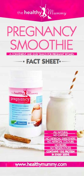 Healthy Smoothies During Pregnancy  The Pregnancy Smoothie Fact Sheet