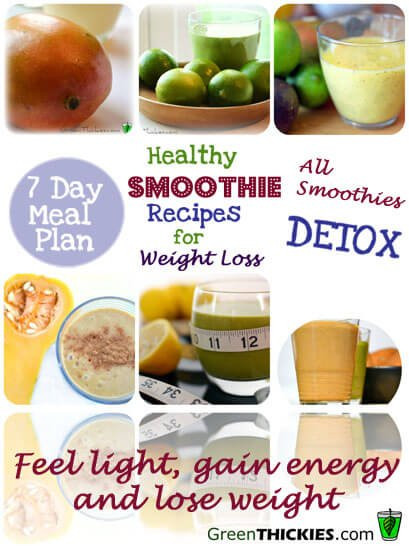 Healthy Smoothies For Dinner  Healthy Meal Plans For Weight Loss 2 Healthy Smoothie