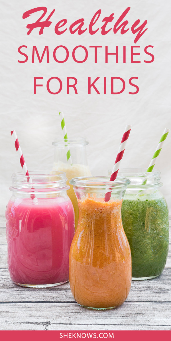 Healthy Smoothies For Kids  3 Fruit Smoothies Your Kids Will Happily Have for Breakfast