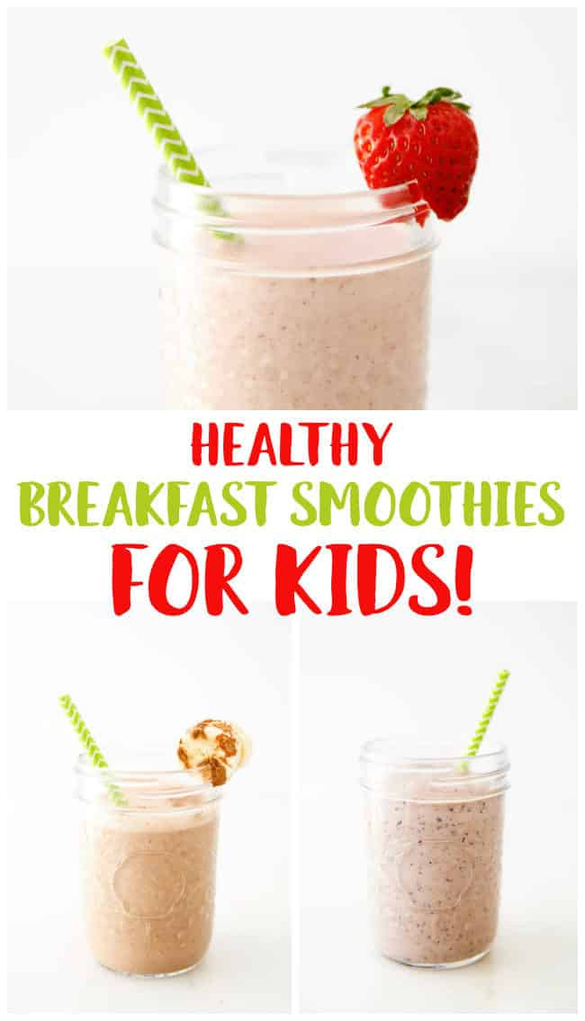 Healthy Smoothies For Kids  Healthy Breakfast Smoothies for Kids