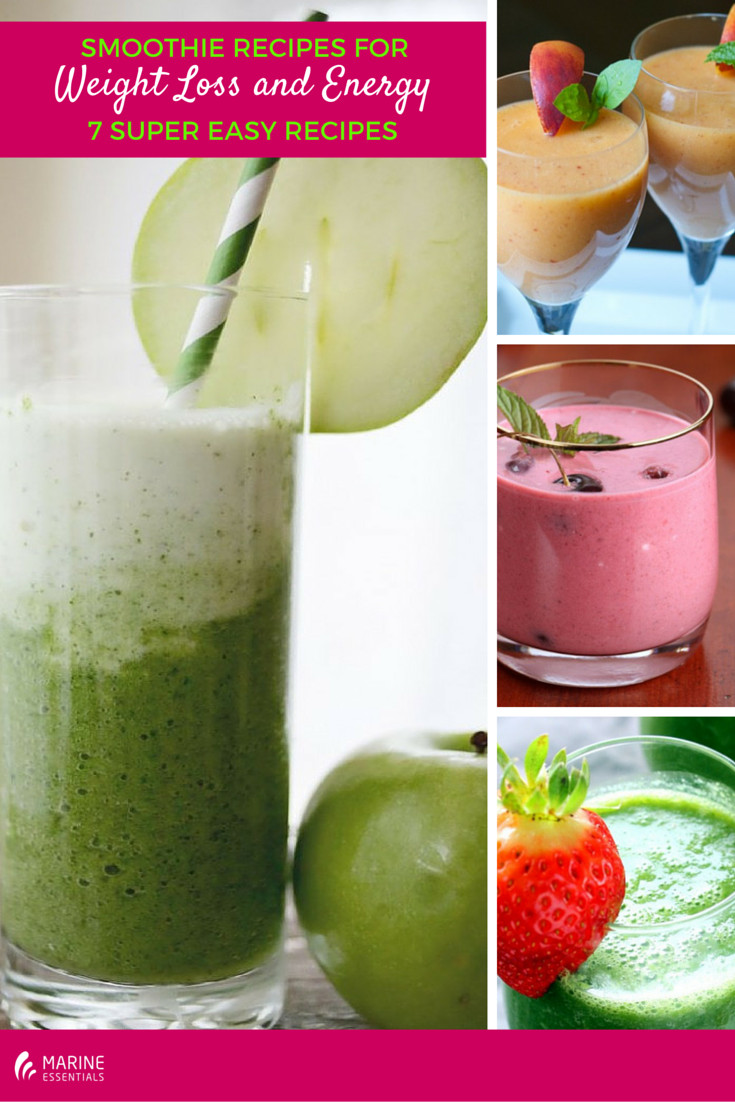 Healthy Smoothies For Weight Loss And Energy  Smoothie Recipes for Weight Loss and Energy