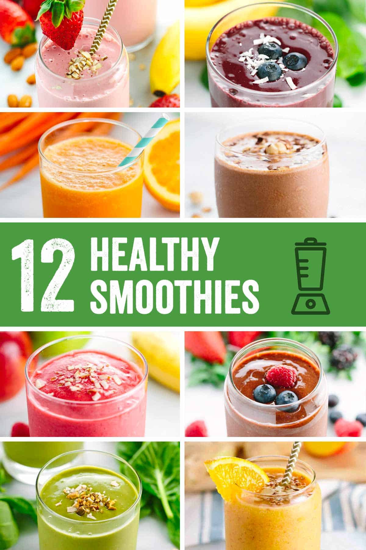 Healthy Smoothies Recipe  Roundup Easy Five Minute Healthy Smoothie Recipes