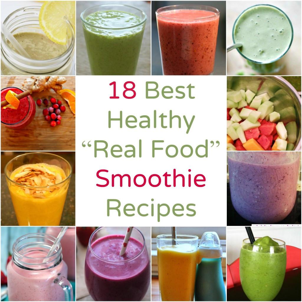 Healthy Smoothies Recipe  Smoothie Recipes