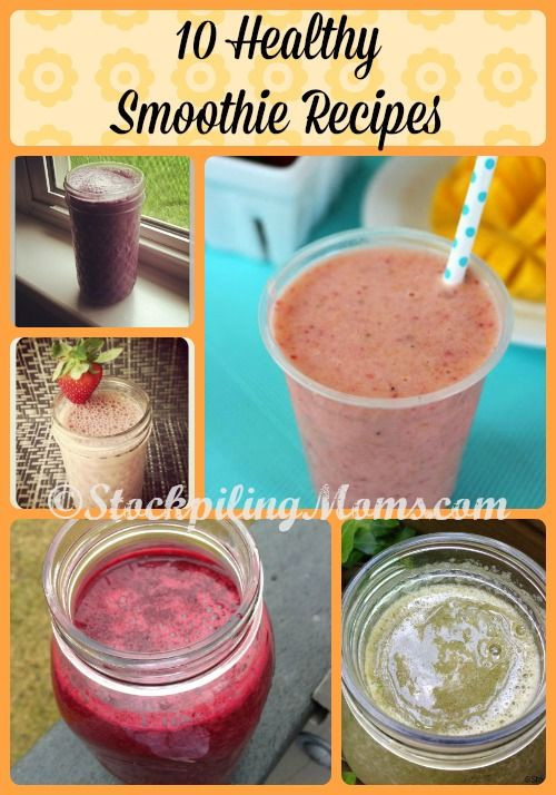 Healthy Smoothies That Taste Good  10 Healthy Smoothie Recipes that taste great and are