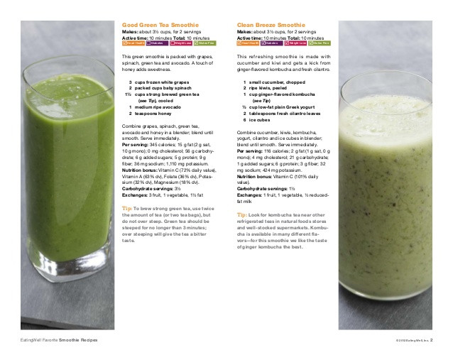 Healthy Smoothies That Taste Good  Healthy Recipes for Weight Loos for Dinner with Chicken
