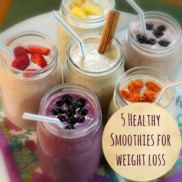 Healthy Smoothies To Lose Weight  5 Healthy smoothies that help you lose weight The Seaman Mom