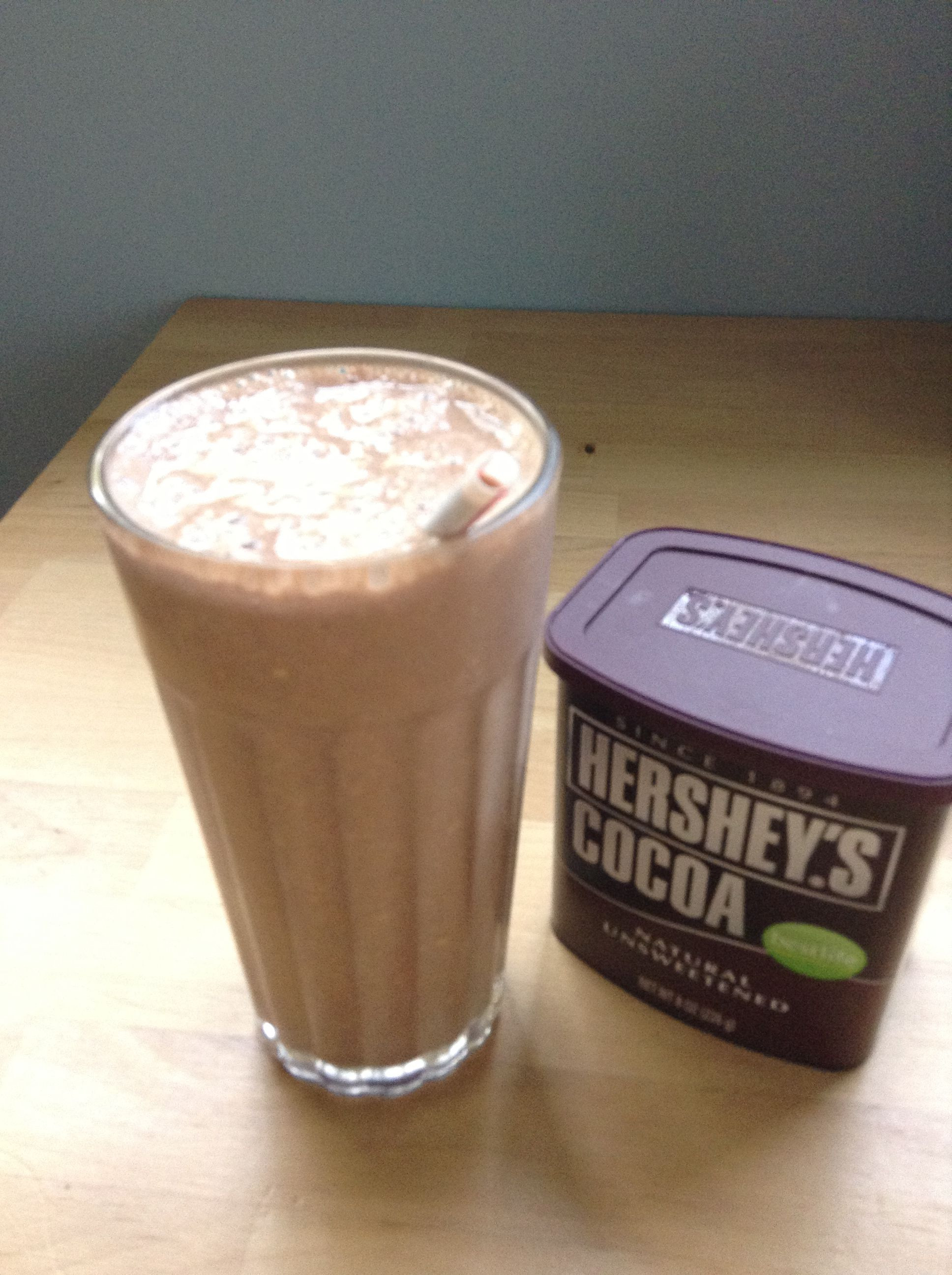 Healthy Smoothies With Cocoa Powder  Healthy Chocolate Smoothie 2tbsp cocoa powder unsweetened