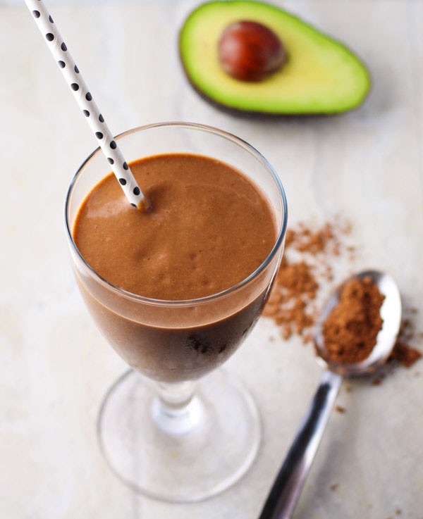 Healthy Smoothies With Cocoa Powder  Healthy Chocolate Avocado Smoothie Tastefulventure