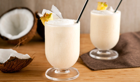 Healthy Smoothies With Coconut Milk  Slimming and Super Silky Coconut Vanilla Smoothie Young