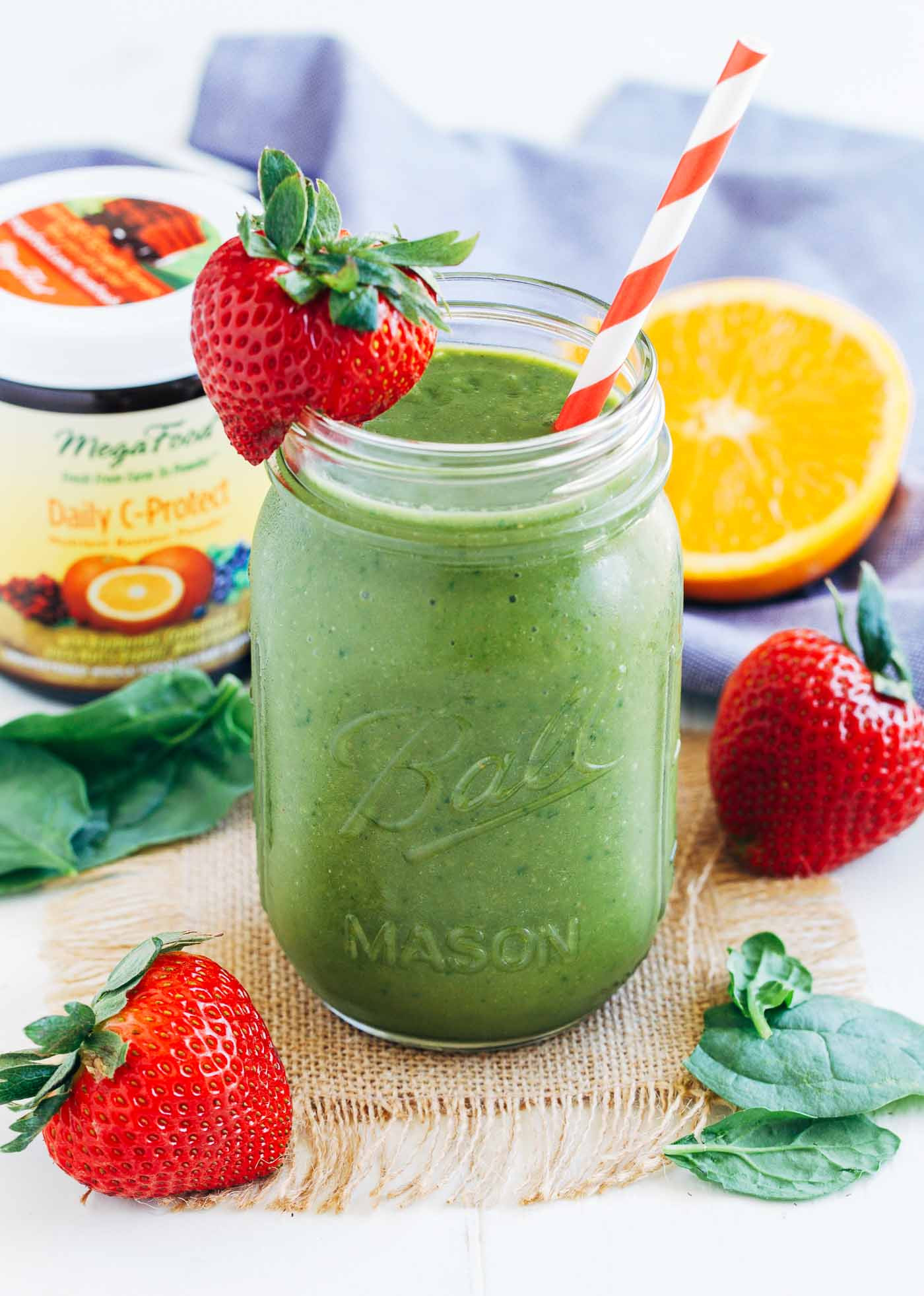Healthy Smoothies With Spinach  Strawberry Mango Spinach Smoothie Making Thyme for Health