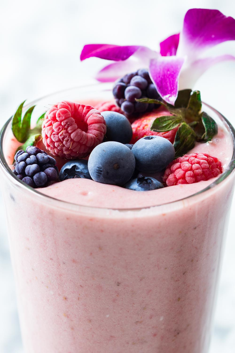 Healthy Smoothies With Yogurt  Strawberry Smoothie Without Yogurt Green Healthy Cooking