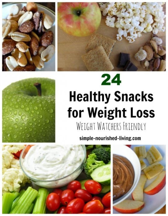 Healthy Snack Recipes For Weight Loss  24 Healthy Snacks for Weight Watchers w Freestyle SmartPoints