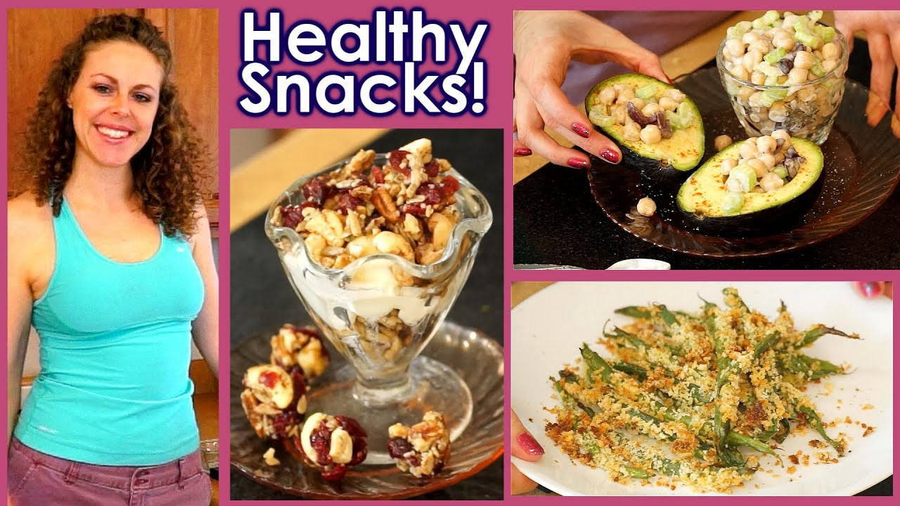 Healthy Snack Recipes For Weight Loss  Healthy Snacks & Weight Loss Tips 5 Snack Recipes High