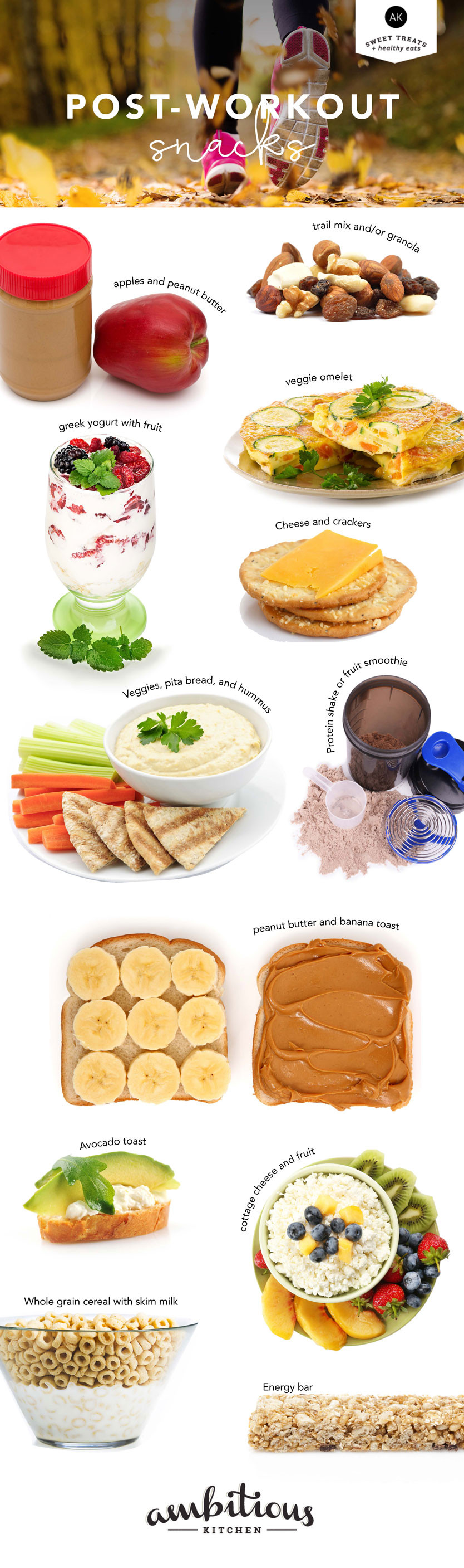 Healthy Snacks After Workout  Wellness Wednesday 12 Healthy Post Workout Snacks When
