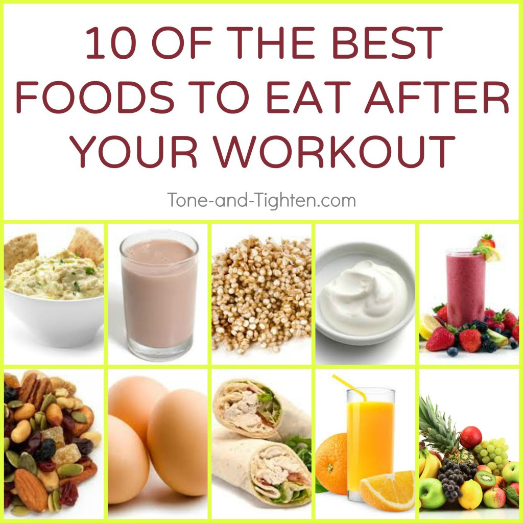 Healthy Snacks After Workout  Best Food To Eat After A Workout