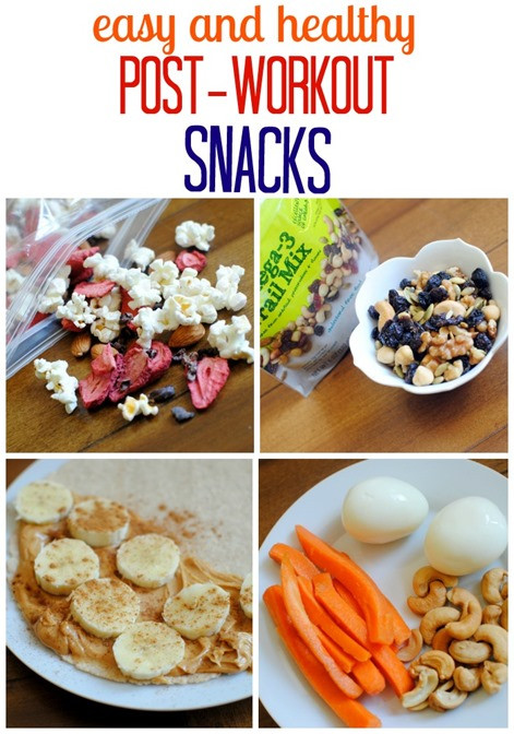 Healthy Snacks After Workout  Easy and Healthy Post Workout Snacks Peanut Butter Fingers