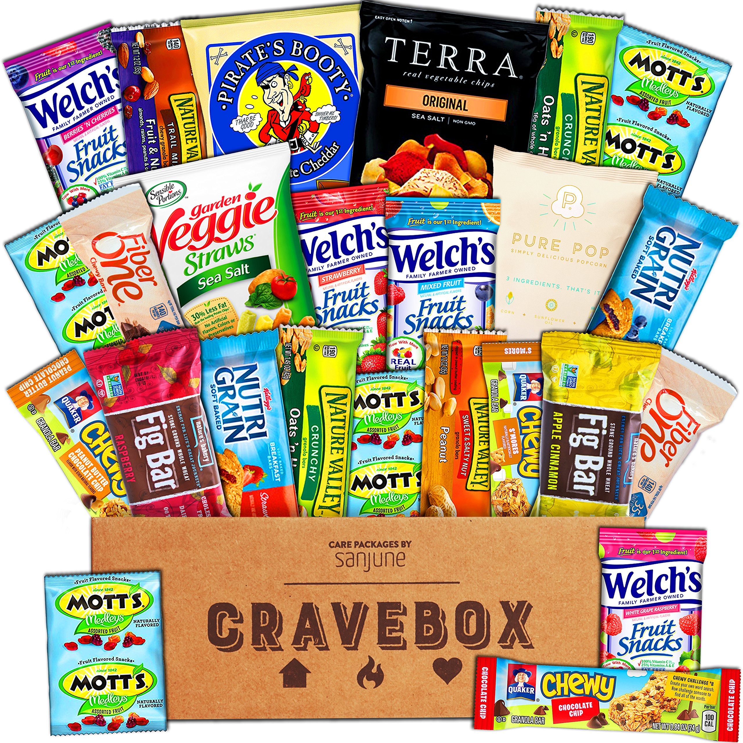 Healthy Snacks Amazon  Amazon Healthy Snacks Gift Basket Care Package 32