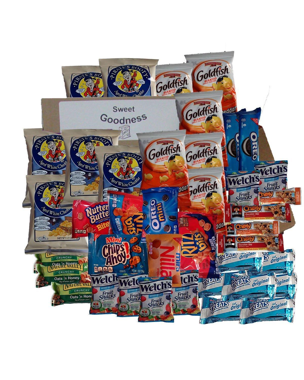 Healthy Snacks Amazon  Amazon Healthy Snack Box 40 Individually Wrapped