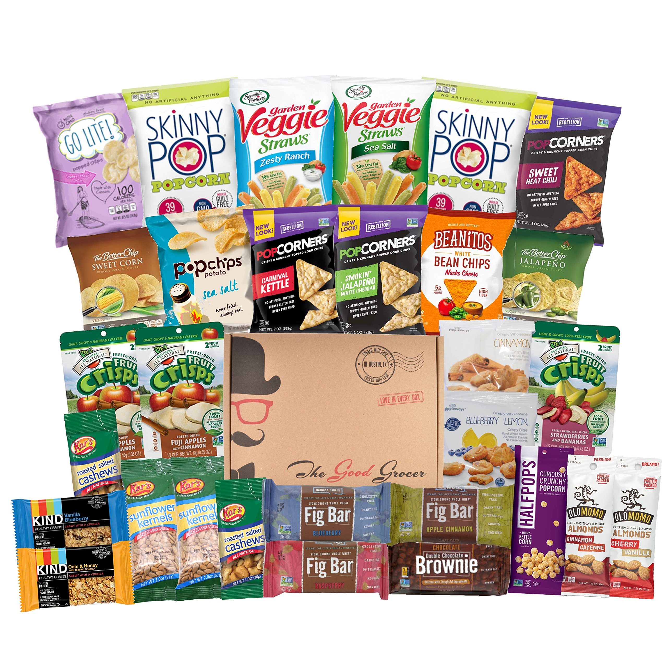 Healthy Snacks Amazon  Amazon Healthy Variety Snack Care Package 30 Count