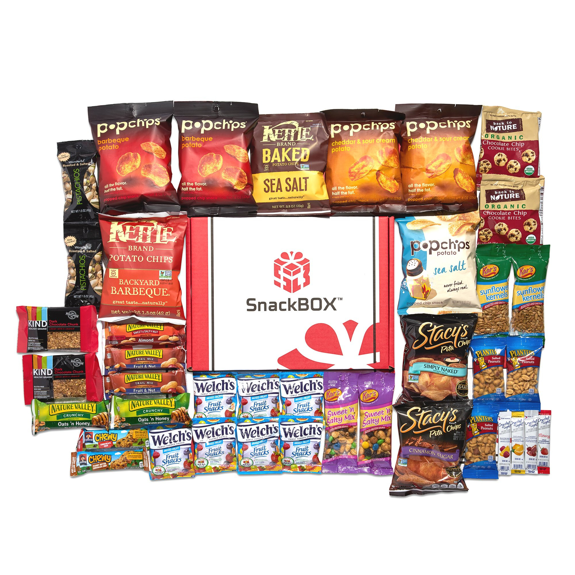 Healthy Snacks Amazon  Amazon Healthy Snacks Care Package 45 Count by The